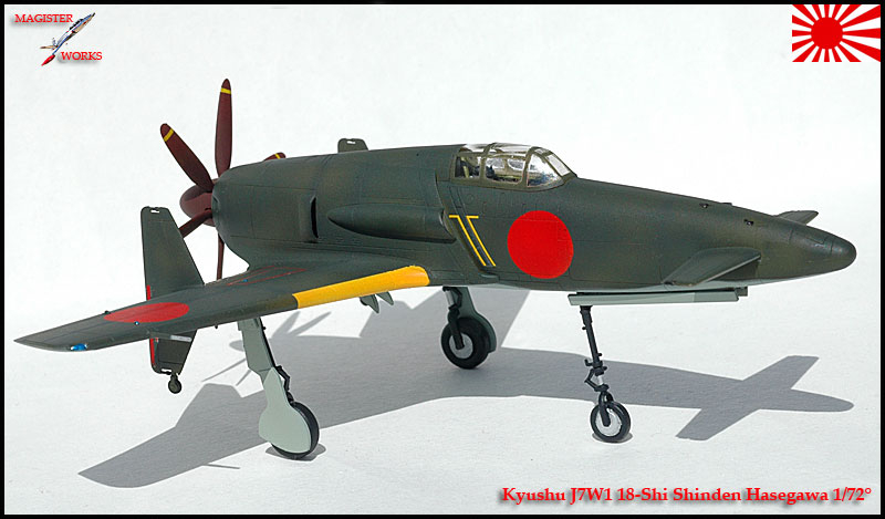 [Hasegawa] Kuyshu J7W1 Shinden Photo26