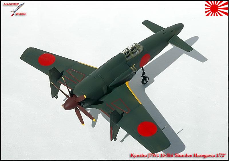 [Hasegawa] Kuyshu J7W1 Shinden Photo28
