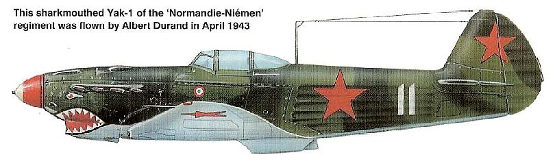 Normandie's  Sharkmouth jak 6 Durand1