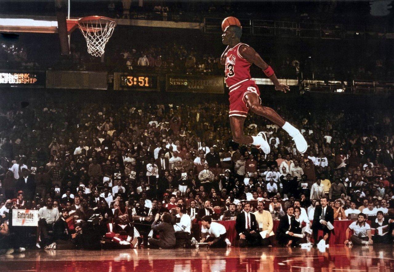 Qui est le plus grand sportif de tout les temps selon le Gamopat ? - Page 2 Air-jordan-free-throw-poster