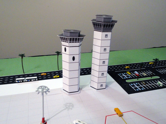 Airport Diorama Designs Control-tower