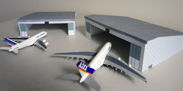 Airport Diorama Designs Miniature-airport-hangar-large-top