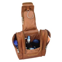 Trousse de toilette Piel-Top-Grain-Leather-Hanging-Travel-Toiletry-Kit-MLB11541433