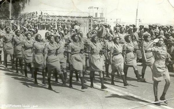 امرأة في الجيش السوداني Sudan