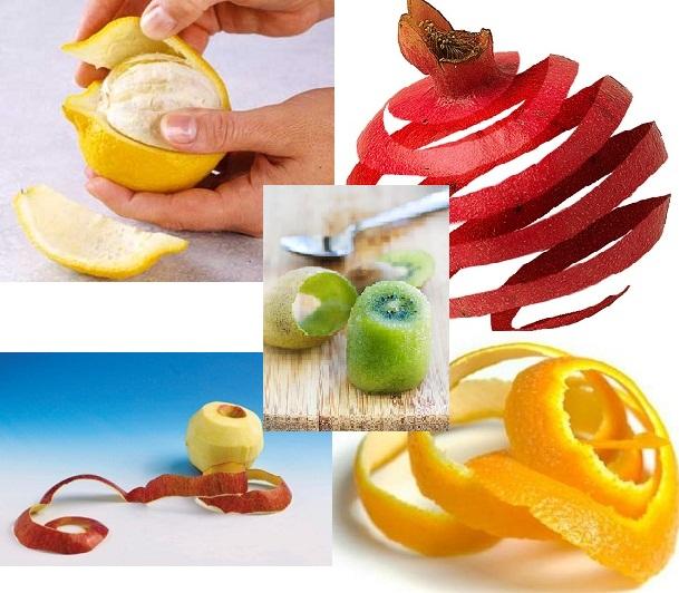 لقشور الفواكه فوائد أيضاً! Peel-fruit