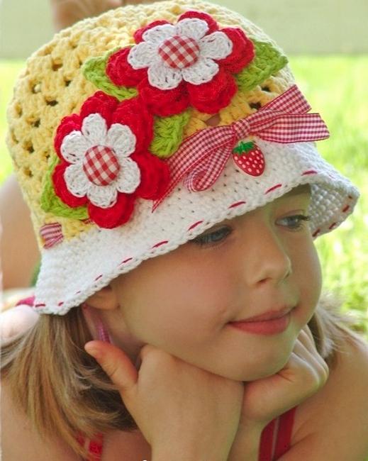 قبعات كروشيه رائعة للاطفال 51257108tr4