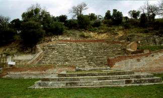 The most outstanding Archaeological sites. Apollonia_Fier_Albania