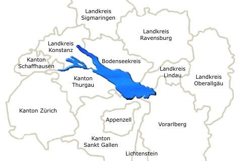 Lago Di Costanza Germania Cartina.Lago Di Costanza