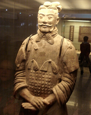 Armee de soldats en terre cuite XiAn_Officier_t