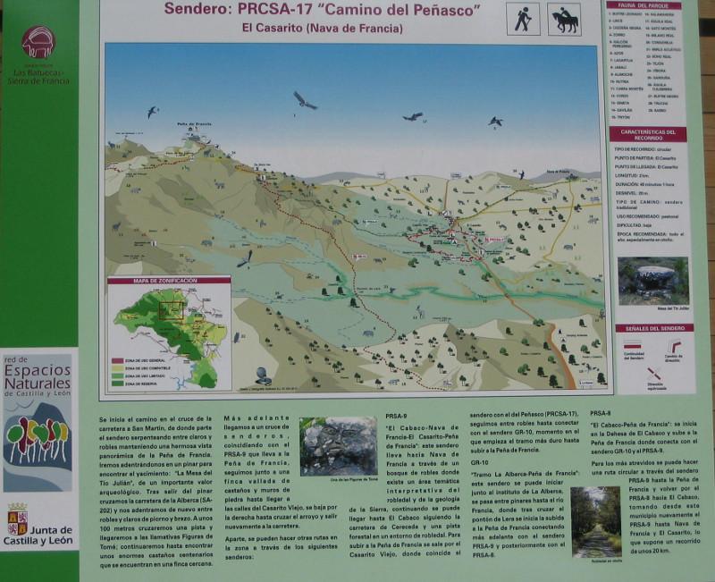 Figuras de Tome y mesa del Tio Julian (Sierra de Francia, Salamanca) Mapa-tome-julian