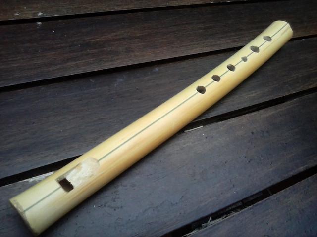 Flauta de bambú de 6 agujeros R_cam00007