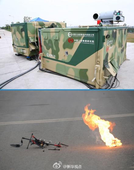 Le catalogue des armements chinois disponibles à l'export - Page 5 Chinese-low-altitude-laser-anti-aircraft-weapon1