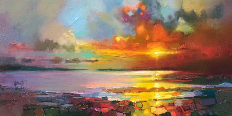 Цветотерапия в живописи... 15