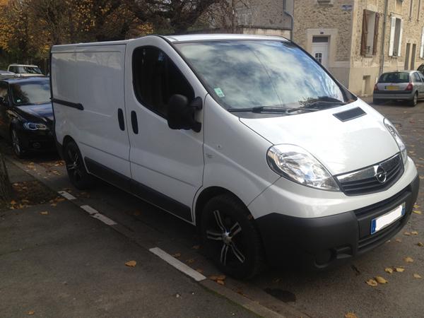 (A la casse) - Mon second véhicule, Opel Vivaro 2.0 115 1