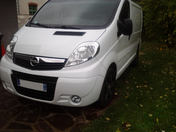 (A la casse) - Mon second véhicule, Opel Vivaro 2.0 115 18