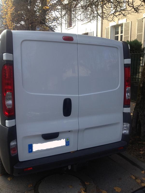 (A la casse) - Mon second véhicule, Opel Vivaro 2.0 115 5