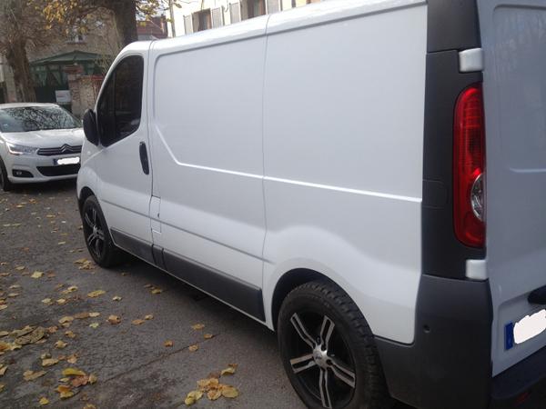 (A la casse) - Mon second véhicule, Opel Vivaro 2.0 115 6
