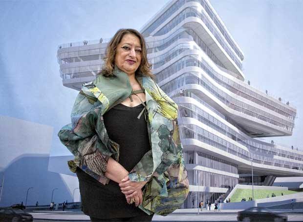 وقاة المعمارية العراقية زها حديد Zuha.H.1