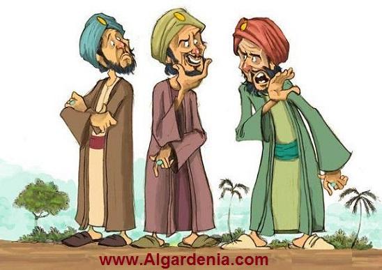 جحا البغدادي يحكي لنا / قصة المثل (وافق شن طبقة) Juhaa.90