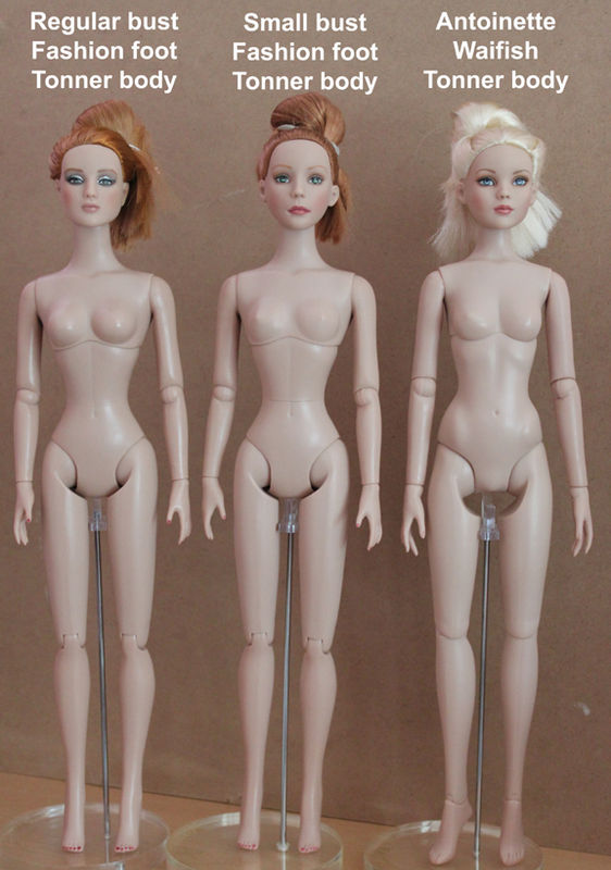 Comparaisons corps fashion dolls: images & liens By_sunflower_three_doll_body_comparisons_front