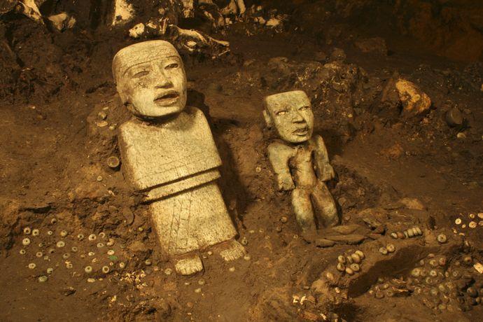 Liquid Mercury Found Under Pyramid at Teotihuacan Mexico-2-compressor