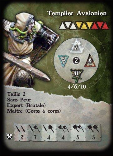 Alkemy le jeu de figurines Templier1