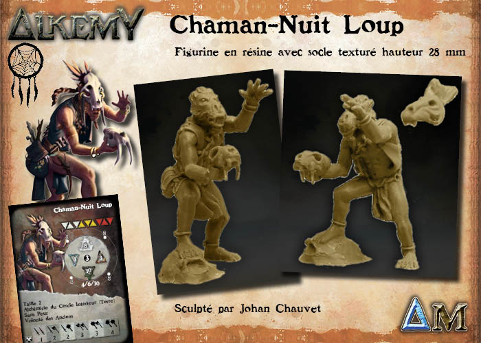 Alkemy the Game, nouvelles sorties 4-chamane-nuit-loup-fr