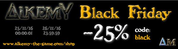 Alkemy the game : reprise, nouveautés, offres et plus encore Black-friday-bandeau