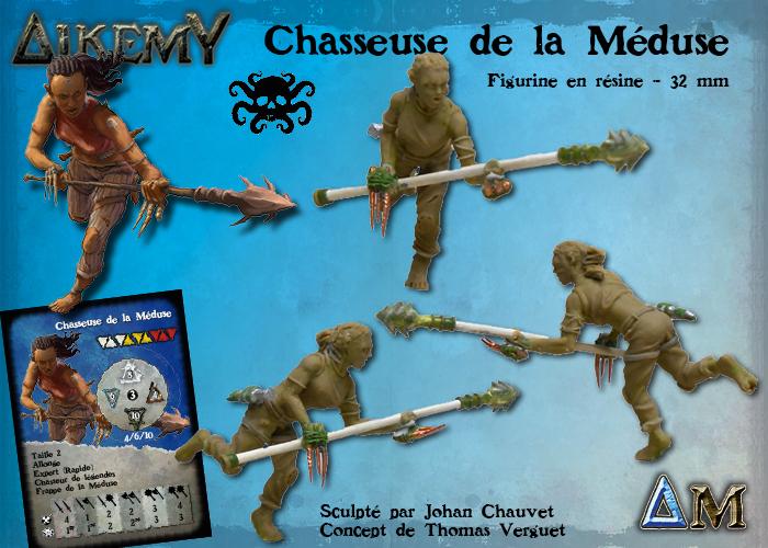 Alkemy the game : reprise, nouveautés, offres et plus encore Bandeau-chasseuse-meduse-fr
