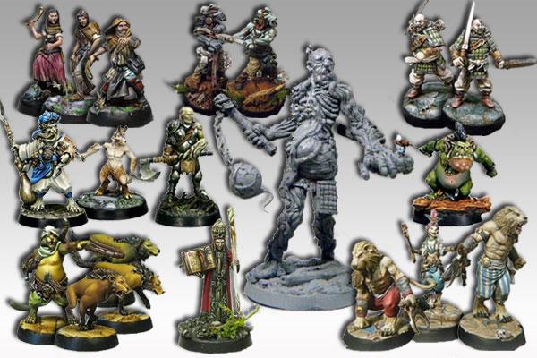 chroniques de Mornéa Montage-figurines