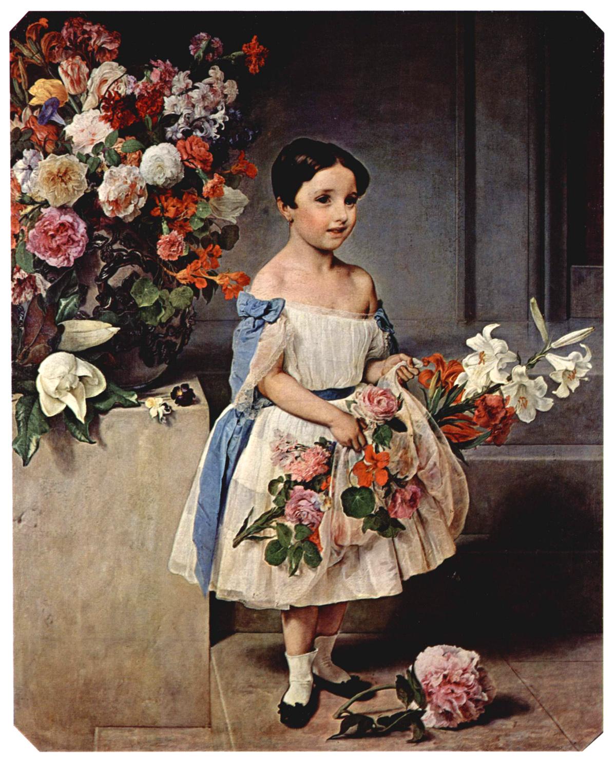 Teme i motivi u slikarstvu - Page 2 Francesco_hayez_portrait_of_countess_antonietta_negroni_prati_morosini_as_a_child