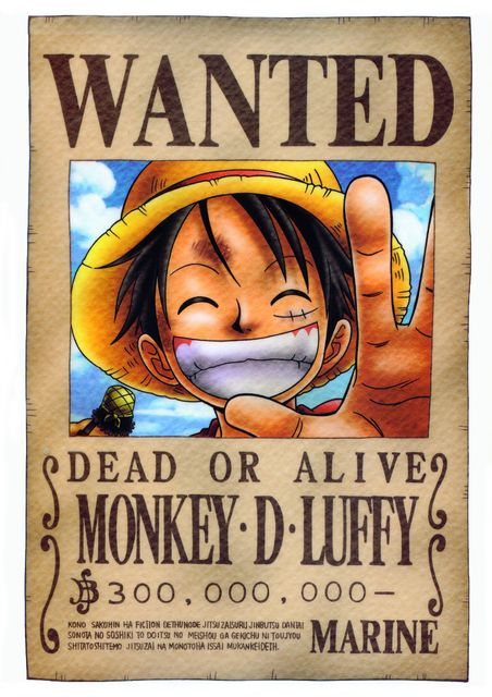 تقرير عن الشخصية monkey d. Luffy من ون بيس 0537e20c