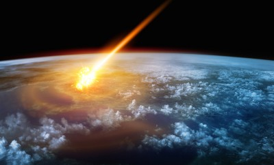 NASA Scientist Drops ELE Bombshell  A-Meteor-glowing-as-it-enters-the-Earths-atmosphere-400x242