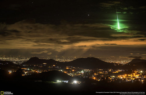 NASA Scientist Drops ELE Bombshell  Green_meteor