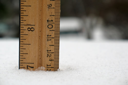 who is excited? Snowfall_measure_2009-12-09