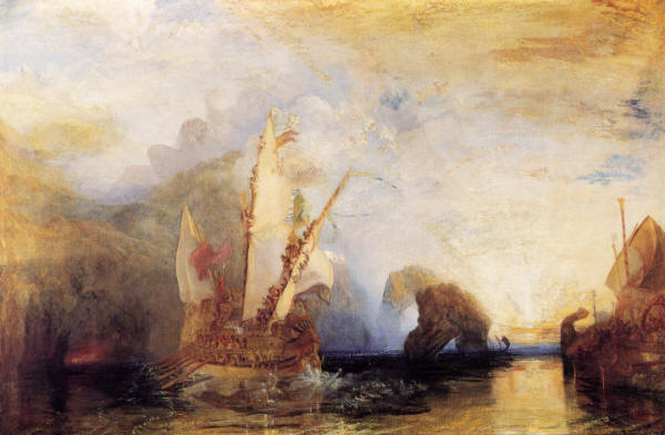 Humeur du jour... en image Turner_-odysseus-deriding-polyphemus
