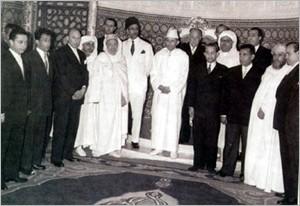 المغفور له جلالة الملك محمد الخامس  T-ph_formation
