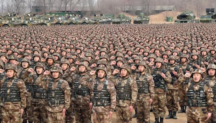 الجيش الصيني يتجه نحو عملية إعادة هيكلة استراتيجية في عملية تخطيط إستباقي مدروسة. 100894
