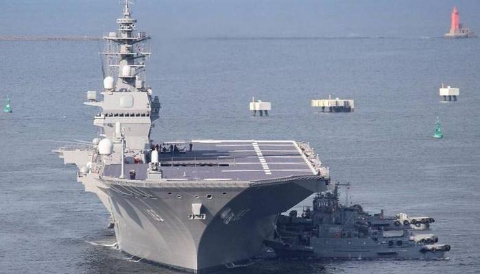 اليابان تفاجئ العالم بتحديث وتطوير حاملتي الطائرات المروحية في خطوة عسكرية جريئة. 100949