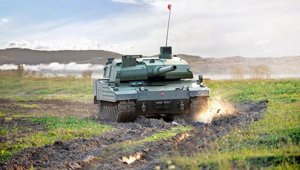 بدء الإنتاج الكمي لدبابة القتال الرئيسية التركية التاي ALTAY MBT-ALTAI
