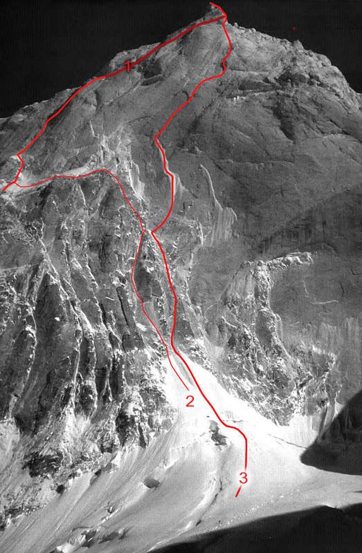 Changabang e Kalanka Route-north-faceforweb