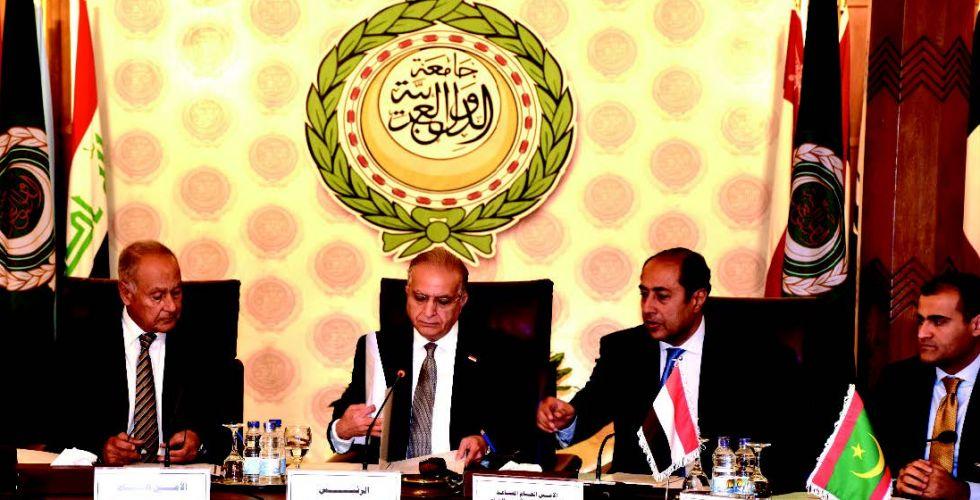 Foreign Minister meets Arab League Secretary General Alsabaah-23498