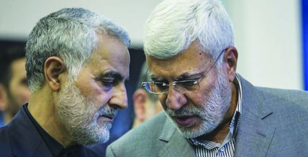Iraq mourns the martyrs {Engineer} and {Soleimani} Alsabaah-26831