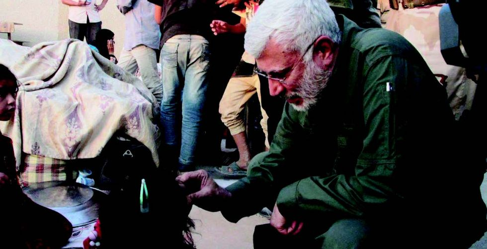 Iraq mourns the martyrs {Engineer} and {Soleimani} Alsabaah-26840