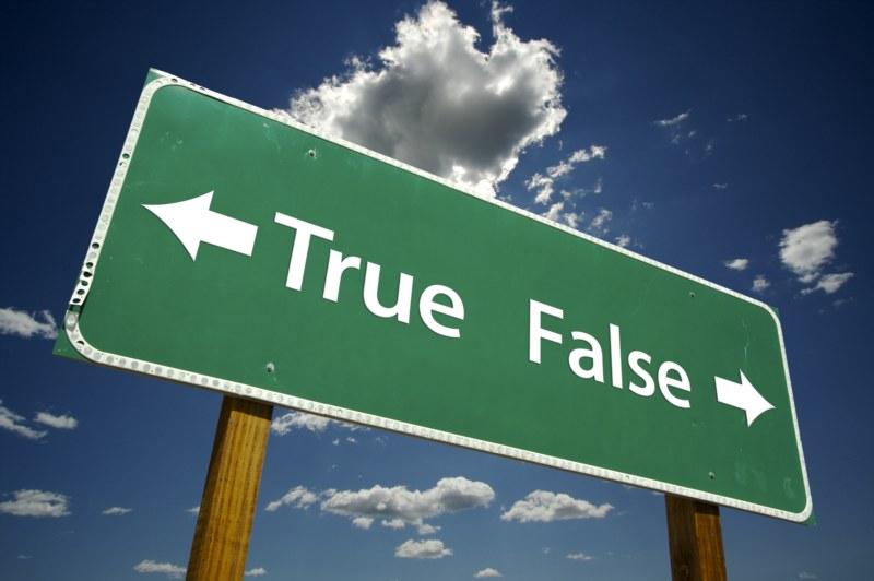Sezione - Tara & simili > - Pagina 5 True-false