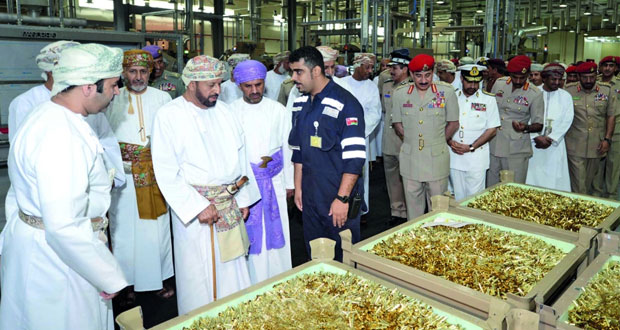 افتتاح مصنع لإنتاج ذخائر الأسلحة الخفيفة في سلطنة عمان باستثمار من صناديق تقاعد الأجهزة العسكرية والأمنية   L310