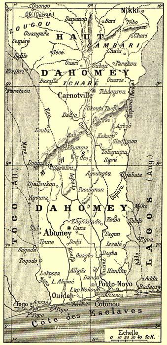Dahomey , Soudan , Guinée , Madacascar Dahomey1900