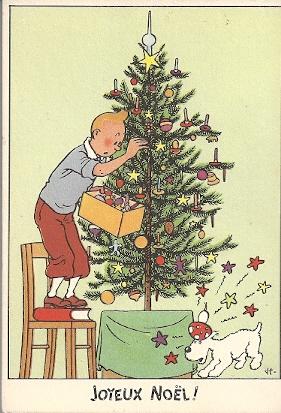 """Le Noël de Tintin, en un temps où la ferveur religieuse était plus importante que la ferveur """"acheteuse"""". Num%C3%A9risation0052"""