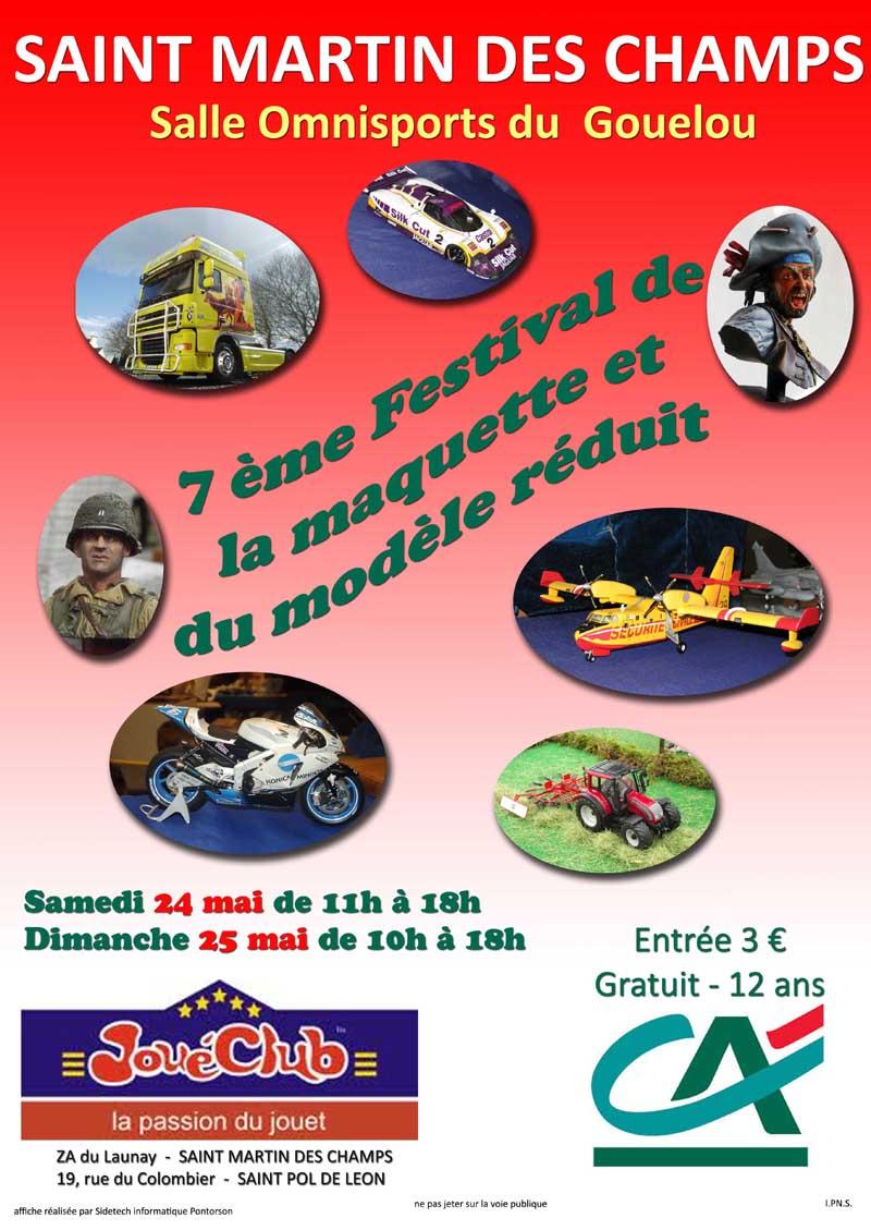 Salon de la maquette de St Martin des champs - 24/25 Mai 2014 - Page 2 Affichea3