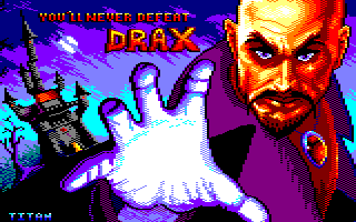Pixel-Art sur Amstrad CPC avec MULTIPAINT Barbarian2GameOver_2020